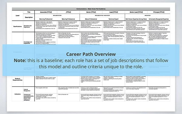 Career Path Overview