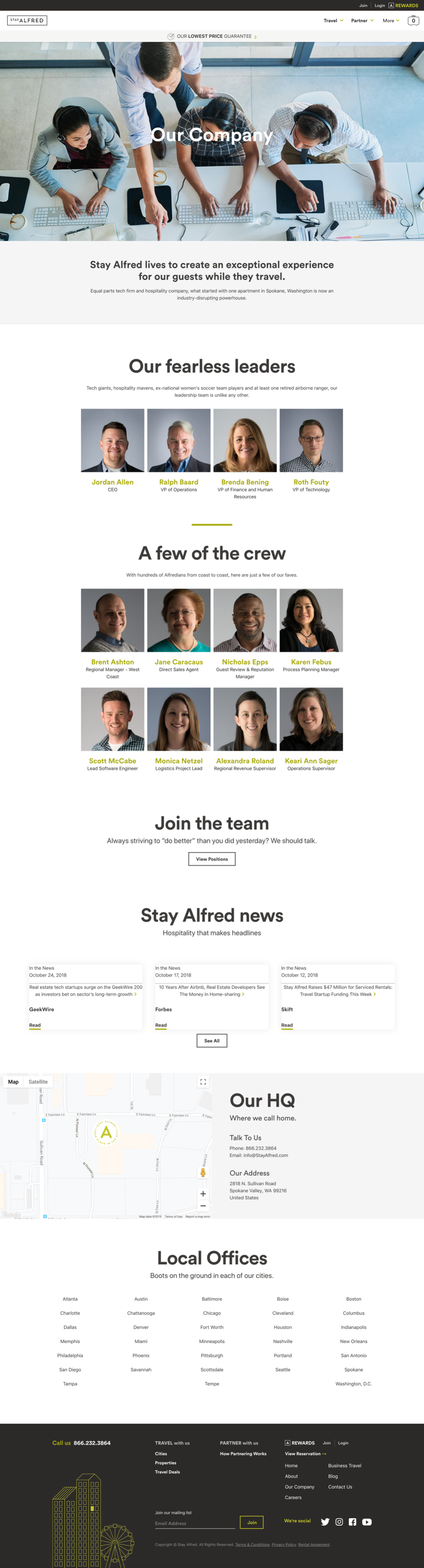 Stay Alfred Company Page V1