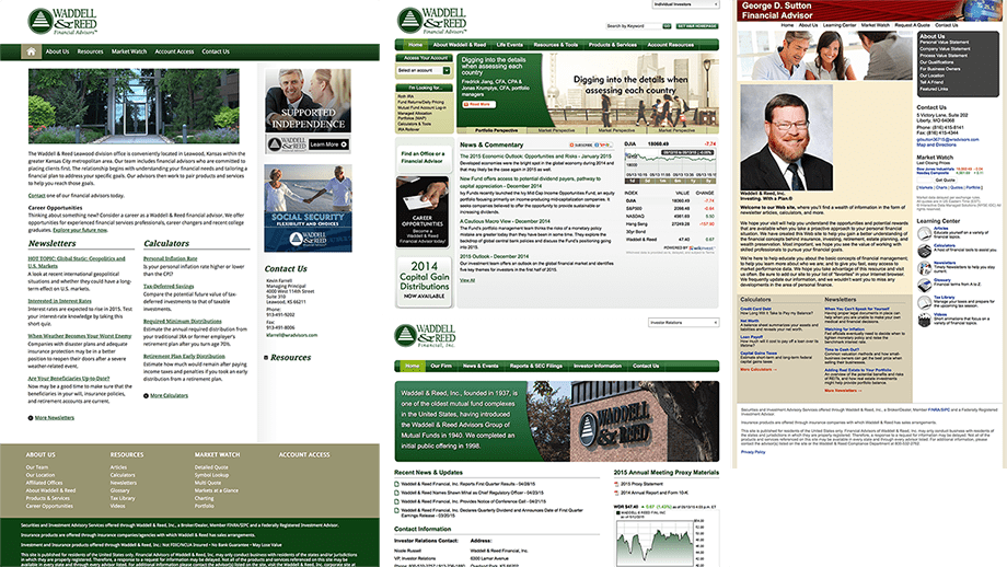 Waddell & Reed Homepage